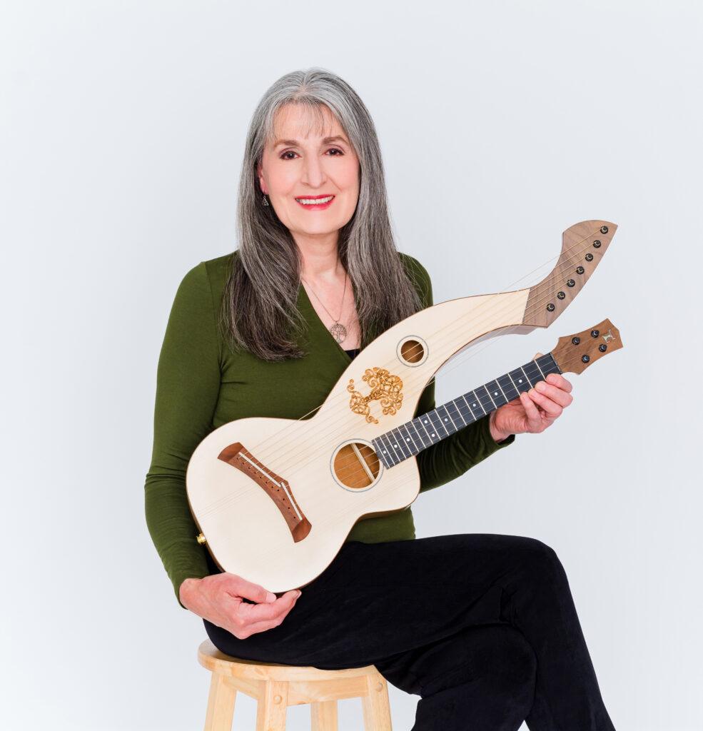 11 string harp ukulele
